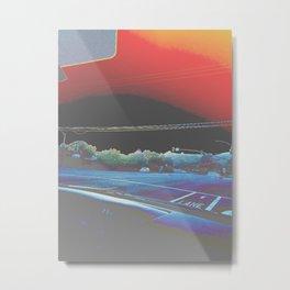 stoplight trip Metal Print