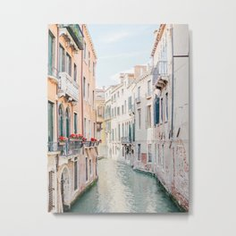 Venice Morning - Italy Travel Photography Metal Print