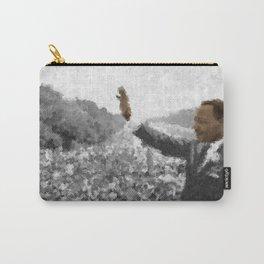 Martin Luther King Junior Wall Art Portrait, Speech, Home Decor, Dorm Decor, Freedom, Carry-All Pouch