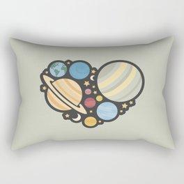 Heart of an Astronaut Rectangular Pillow
