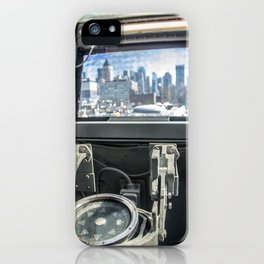 West to New York City iPhone Case