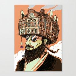 Stamford Hat Canvas Print