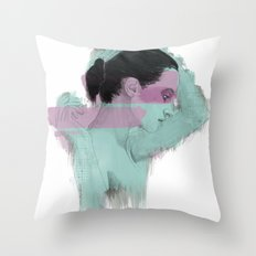 Gentle Little Time Throw Pillow