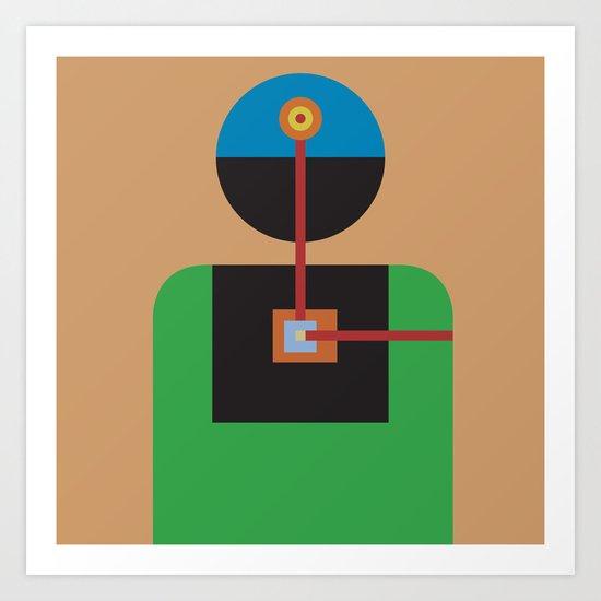 One: Feel Art Print