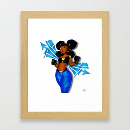 Tough Girl 2 Framed Art Print