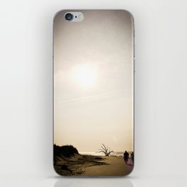 Stroll along the Beach iPhone Skin