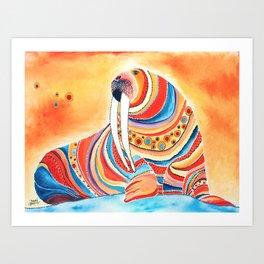 Tiger Of The North Art Print