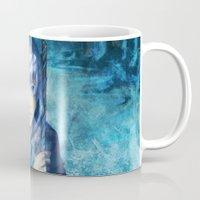 jack frost Mugs featuring Jack frost by keiden