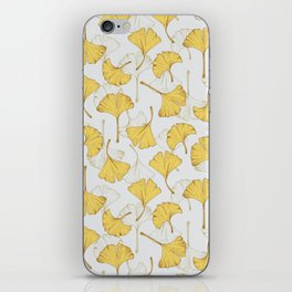 Ginkgo Pattern iPhone Skin