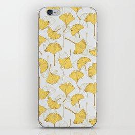Ginkgo Pattern iPhone Skin