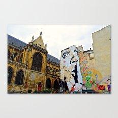 Paris….Shhhhh Canvas Print