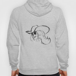 Day of the Dead Cowgirl Hoody