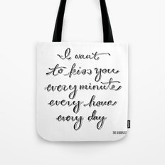 I Believe in a Thing Called Love Tote Bag