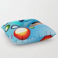 Atomic Music Floor Pillow