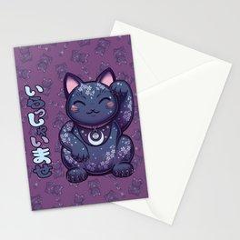 Hanami Maneki Neko: Ren Stationery Cards