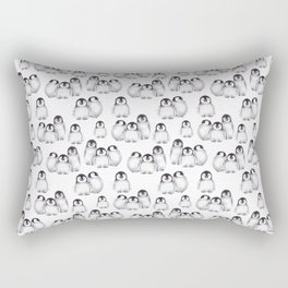 Baby Penguins pattern Rectangular Pillow