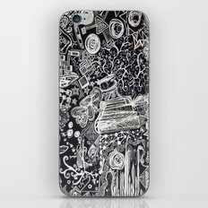 White/Black #2  iPhone & iPod Skin