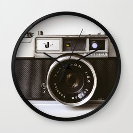 Camera II Wall Clock