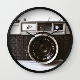 Camera photograph, old camera photography Wall Clock