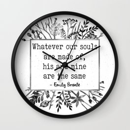 His and Mine Wall Clock