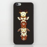 totem iPhone & iPod Skins featuring Totem by Freeminds