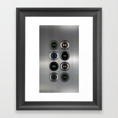 Robotic Camera Framed Art Print