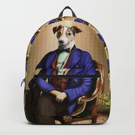 Doctor Declan Dogue in his Parlor Backpack