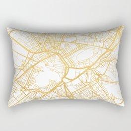 ATHENS GREECE CITY STREET MAP ART Rectangular Pillow