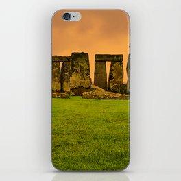 The Standing Stones - Stonehenge iPhone Skin