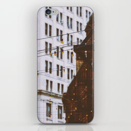 New York City Buildings and Lights (Color) iPhone Skin