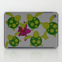 turtles iPad Cases featuring Turtles  by MillennialBrake