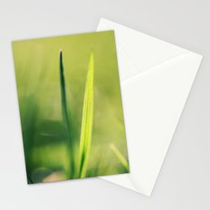 Spring Green Stationery Cards