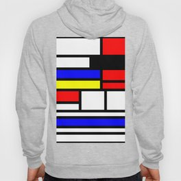 Cubism Painting Art Retro Pattern Hoody