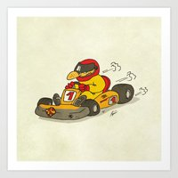 f1 Art Prints featuring F1 by Pepan