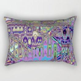 Gumby Loves Gidget A Rectangular Pillow