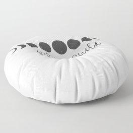 Moon Child Floor Pillow