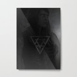 Chrome & Clitoral Hoods Metal Print
