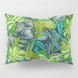Botanical Leaves Pillow Sham