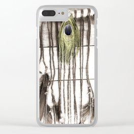 Feathered Dreams Clear iPhone Case
