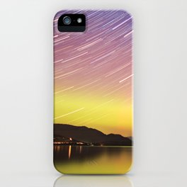 Aurora at Flat Head Lake iPhone Case