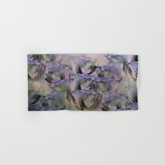 Glamorous Lavender Roses Abstract Hand & Bath Towel