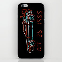 You Built a Time Machine..BTTF Back to the future car iPhone Skin