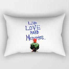 Live Love Make Memories, G-Dragon... Rectangular Pillow