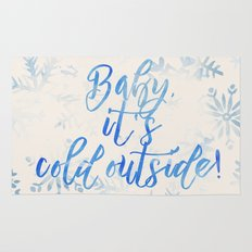 Baby, It's Cold Outside! Rug