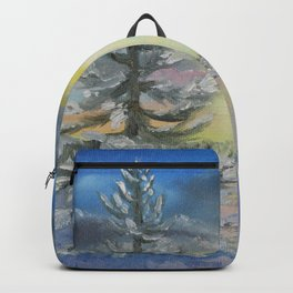Michigan Pines at Sunset Backpack