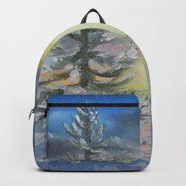 Michigan Pines at Sunset Backpack
