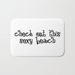 Check Out This Sexy Beach Bath Mat