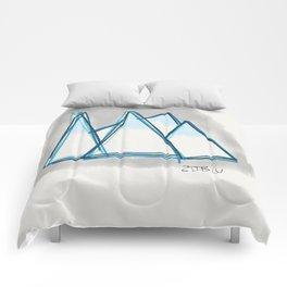 Bluey Peaks Comforters