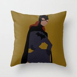 Batgirl Minimalism Throw Pillow