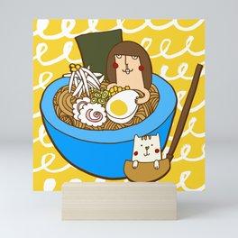 Ramen bowl Mini Art Print
